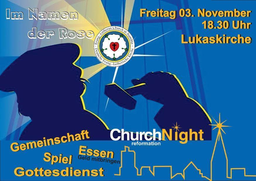 Church night 2017