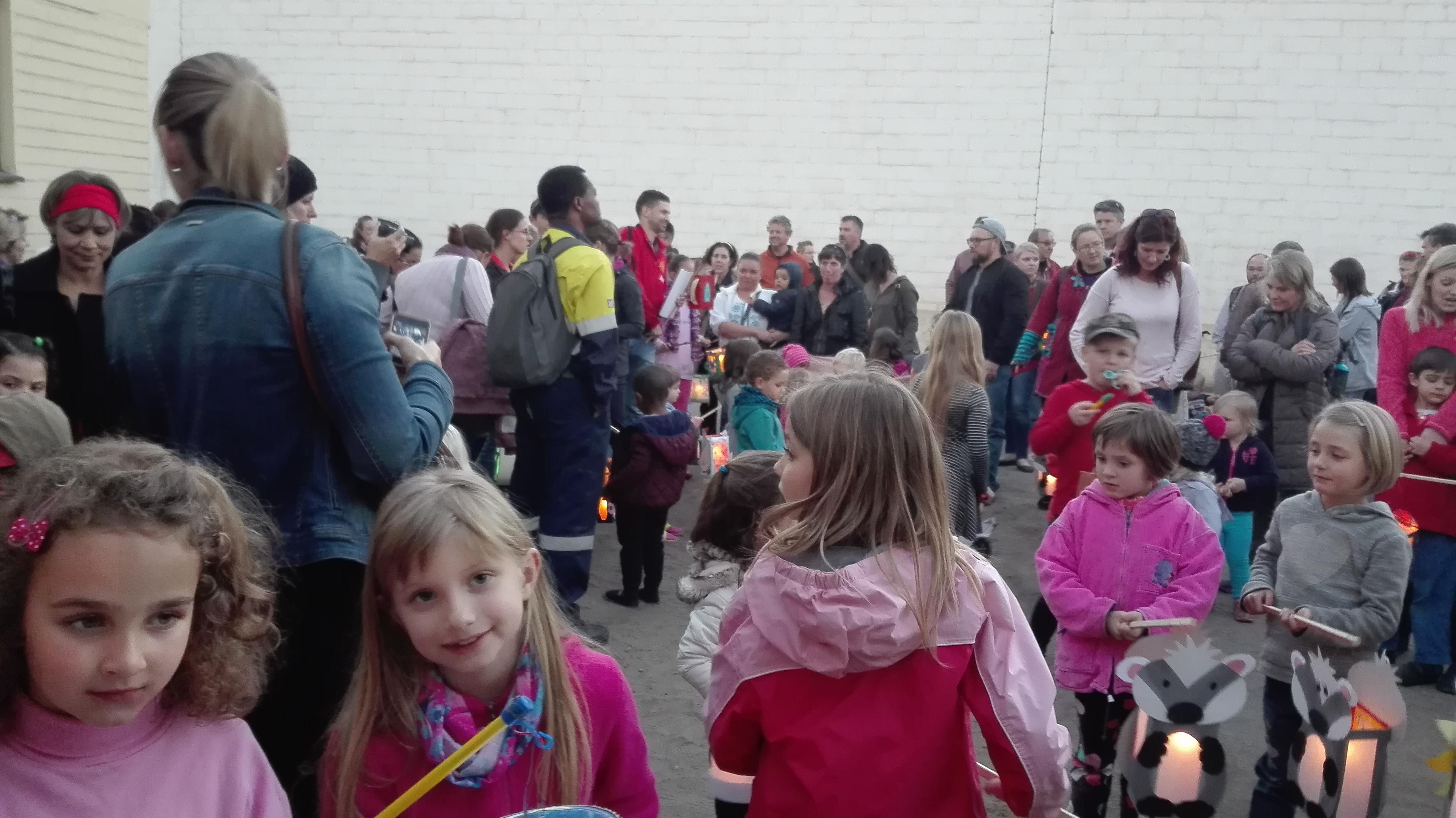 Laternenfest des Georg Ludwig Kindergartens